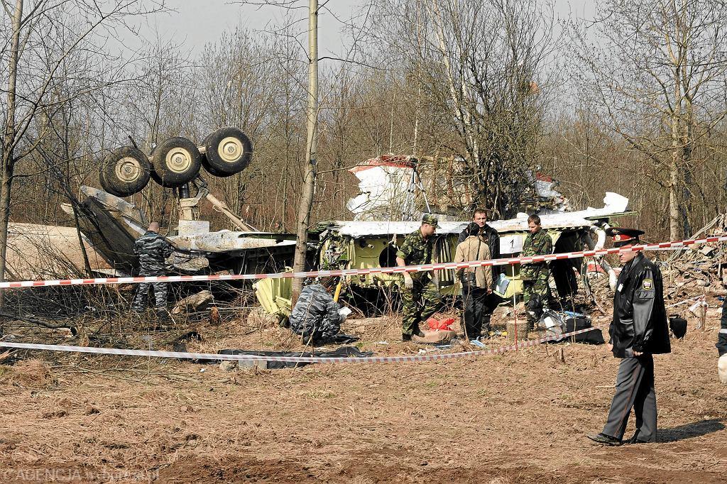 Katastrofa prezydenckiego samolotu TU-154m w Smoleńsku. Rosja, 10 kwietnia 2010