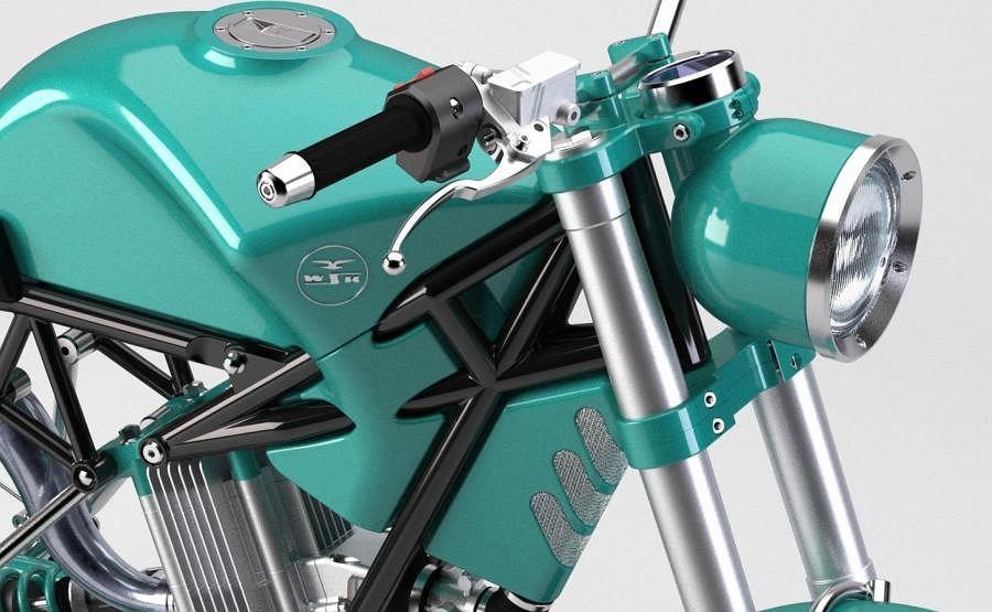 Nowy motocykl WSK (wizualizacja)