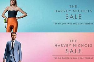 Reklamy domu handlowego Harvey Nichols - szokujące?