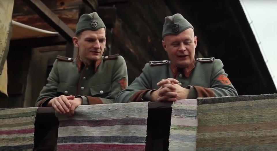 Zdjęcie z plany filmu 'Wołyń'