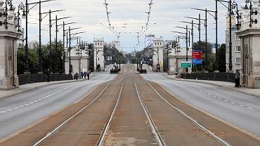 Most Poniatowskiego w Warszawie. Zdjęcie ilustracyjne