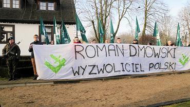 Drozdowo, uroczystości 79. rocznicy śmierci Romana Dmowskiego