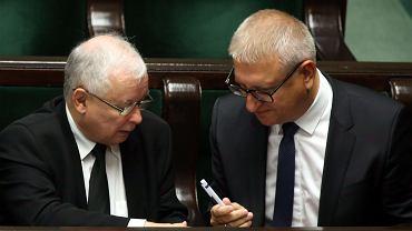 Jarosław Kaczyński i Stanisław Pięta