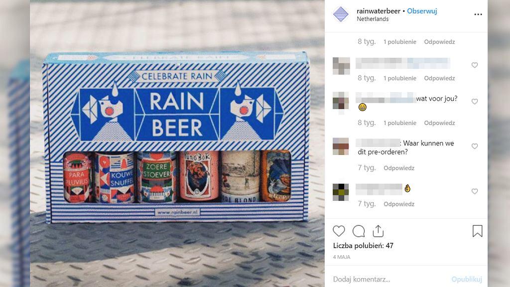 Do produkcji piwa wykorzystują... deszczówkę.