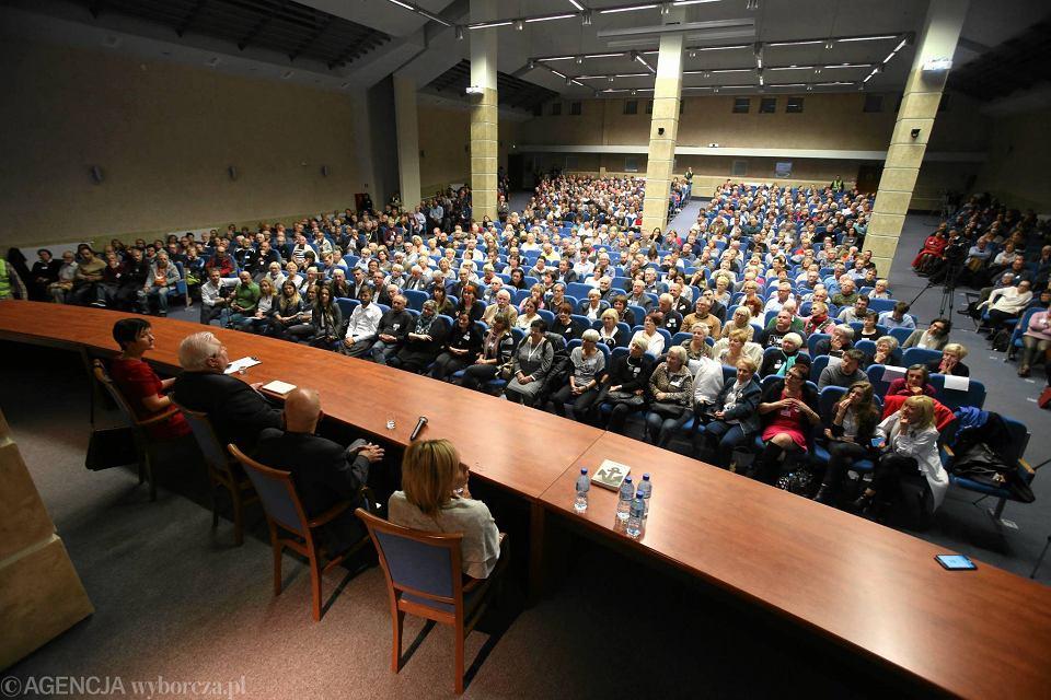 Spotkanie z Lechem Wałęsą w Szczecinie