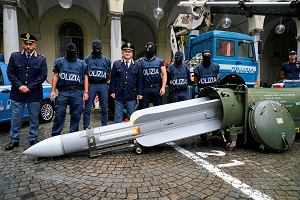 Niecodzienne odkrycie w magazynie ultrasów Juventusu. Była tam nawet rakieta ziemia-powietrze