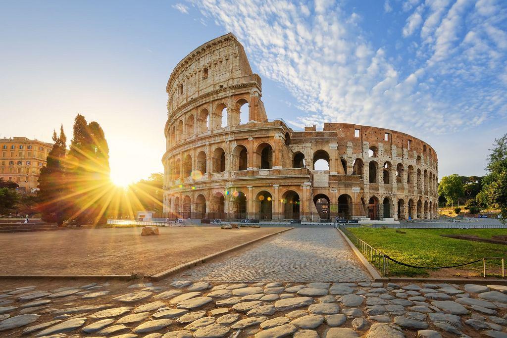 Włochy. Koloseum