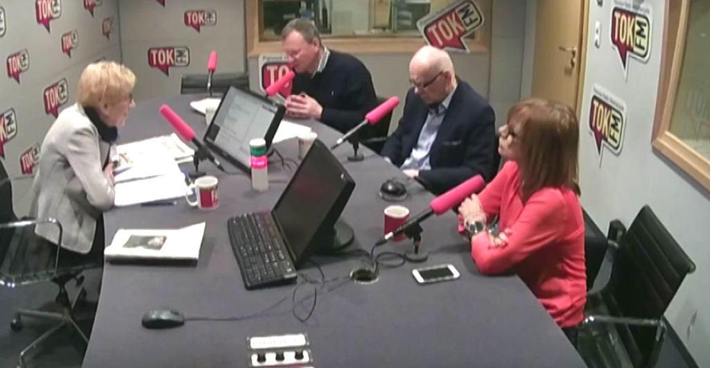 Janina Paradowska, Bogusław Chrabota, Adam Szostkiewicz i Ewa Marciniak