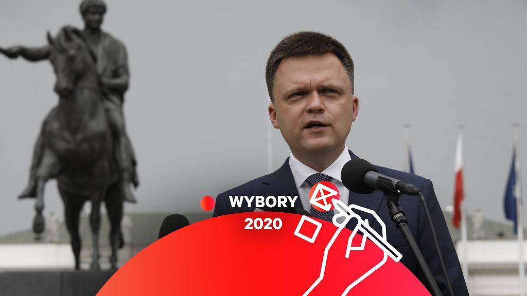 Wybory 2020 - Szymon Hołownia.
