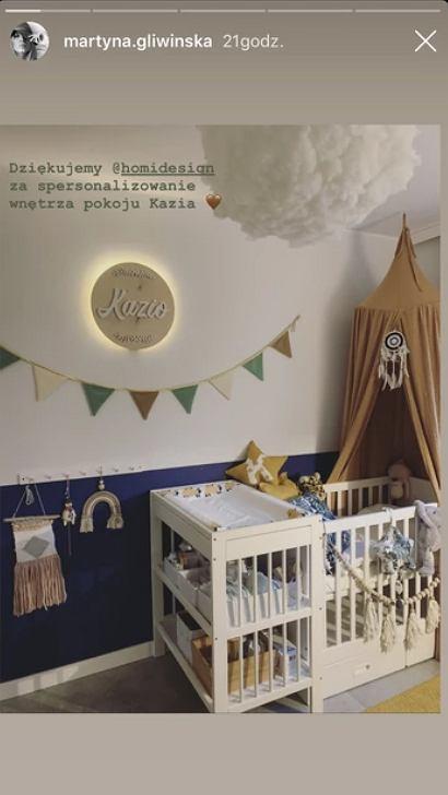 Martyna Gliwińska pokazała pokój synka