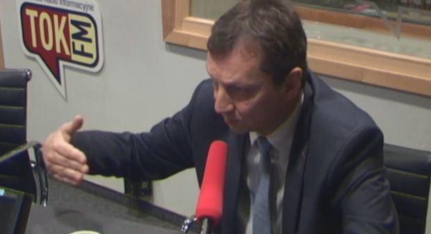 Andrzej Halicki w studiu radia TOK FM