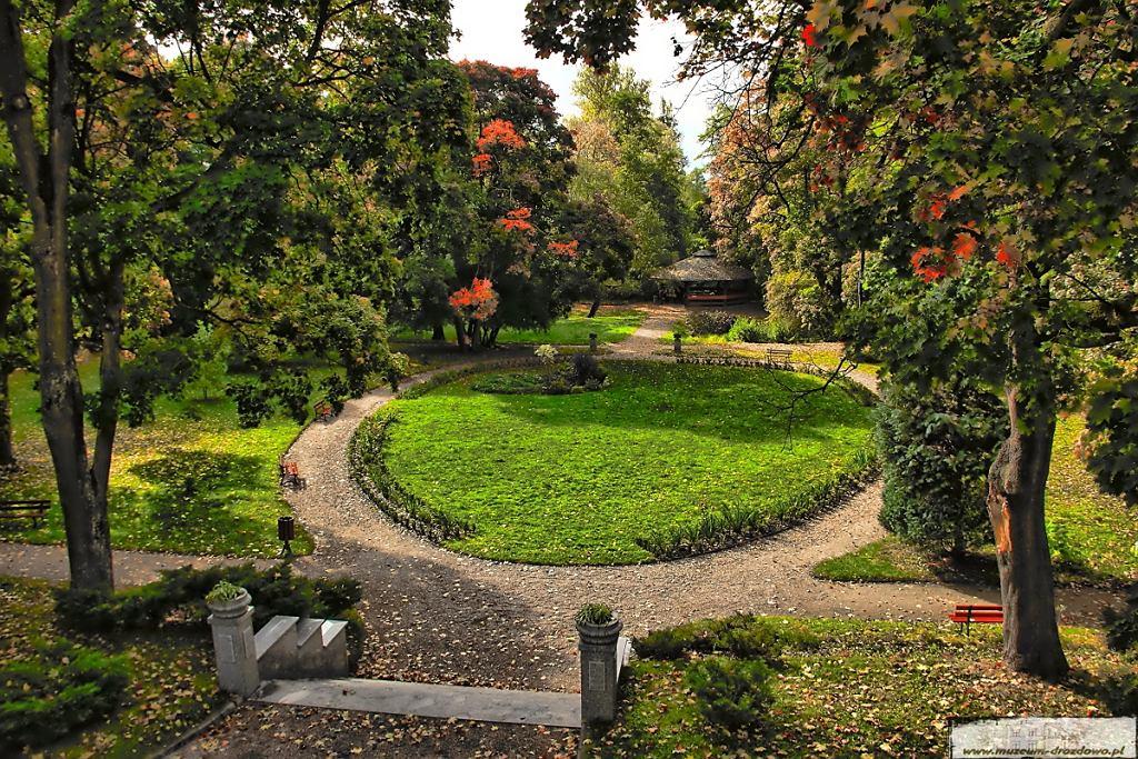 Park przymuzealny w Drozdowie