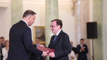 Prezydent powołał Mariusza Kamińskiego na szefa MSWiA