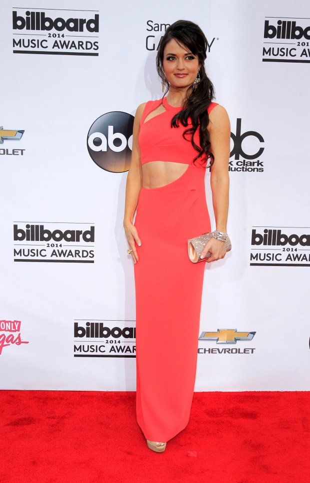 Actress Danica McKellar arrives at the 2014 Billboard Music Awards in Las Vegas, Nevada May 18, 2014.  REUTERS/L.E. Baskow  (UNITED STATES-Tags: ENTERTAINMENT)(BILLBOARDAWARDS-ARRIVALS)