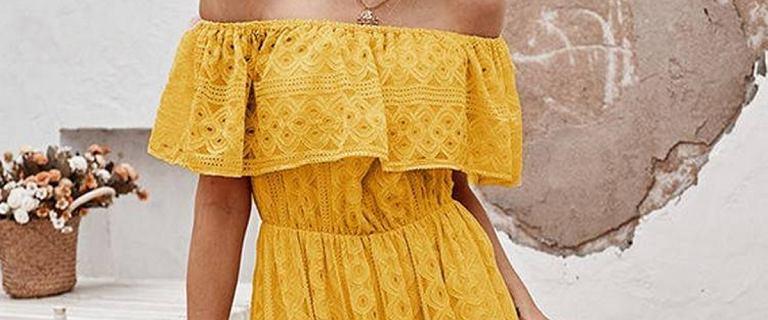 Sukienki hiszpanki to świetna opcja na upały. Stylowo podkreślą ramiona. TOP 18 niedrogich modeli. Pokochasz je!