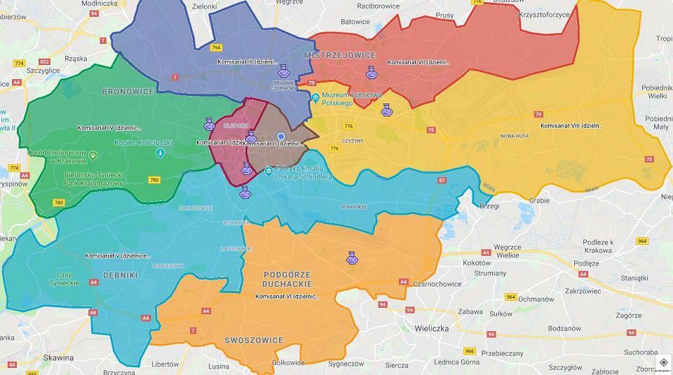 Mapa Przestepczosci W Krakowie Sprawdz Ile Przestepstw
