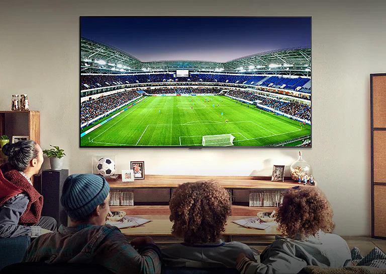 Telewizory LG OLED są świetne do przeżywania sportowych emocji.