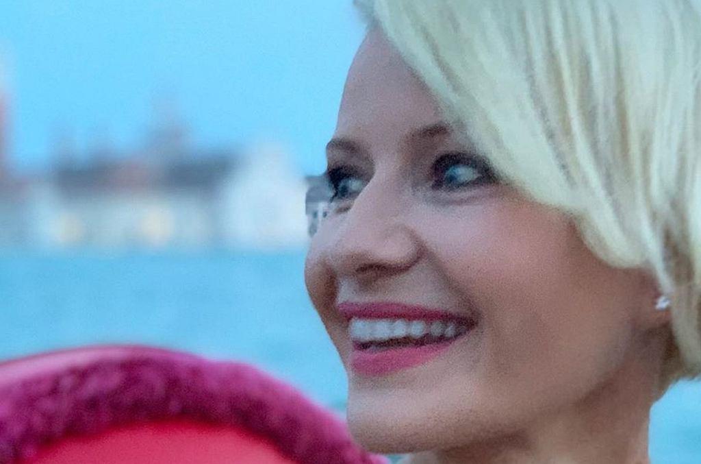 Małgorzata Kożuchowska na Festiwalu Filmowym w Wenecji zaprezentowała się w nowej fryzurze. Fani: 'To przejściowe, prawda?'