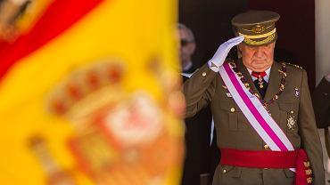 Juan Carlos, były król Hiszpanii, wyjechał z kraju