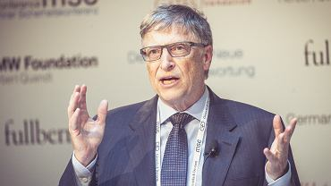 Bill Gates (Co-Chair, Bill & Melinda Gates Foundation) at the launch of 'Deutschlands neue Verantwortung'.