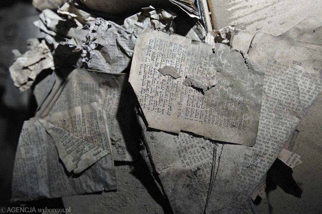 Żydowskie pamiątki w Domu Londnera w Będzinie
