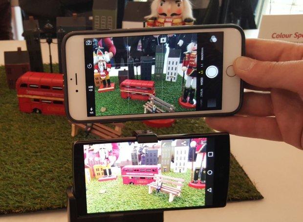 LG G4 kontra iPhone 6 Plus