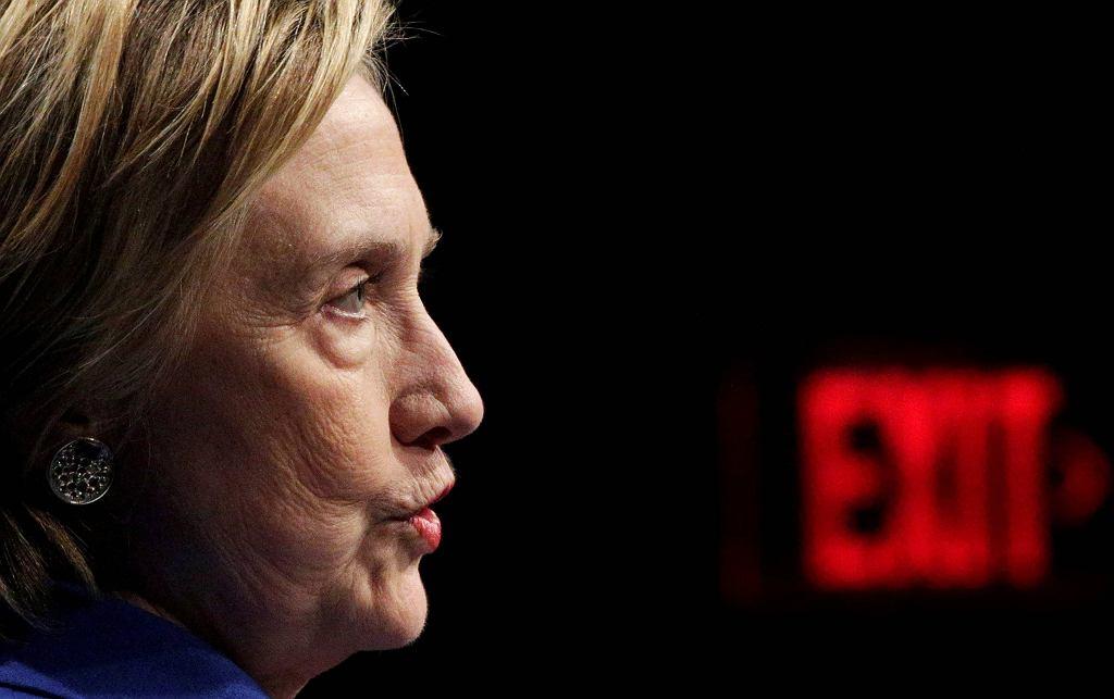 Hillary Clinton tydzień po wyborach prezydenckich