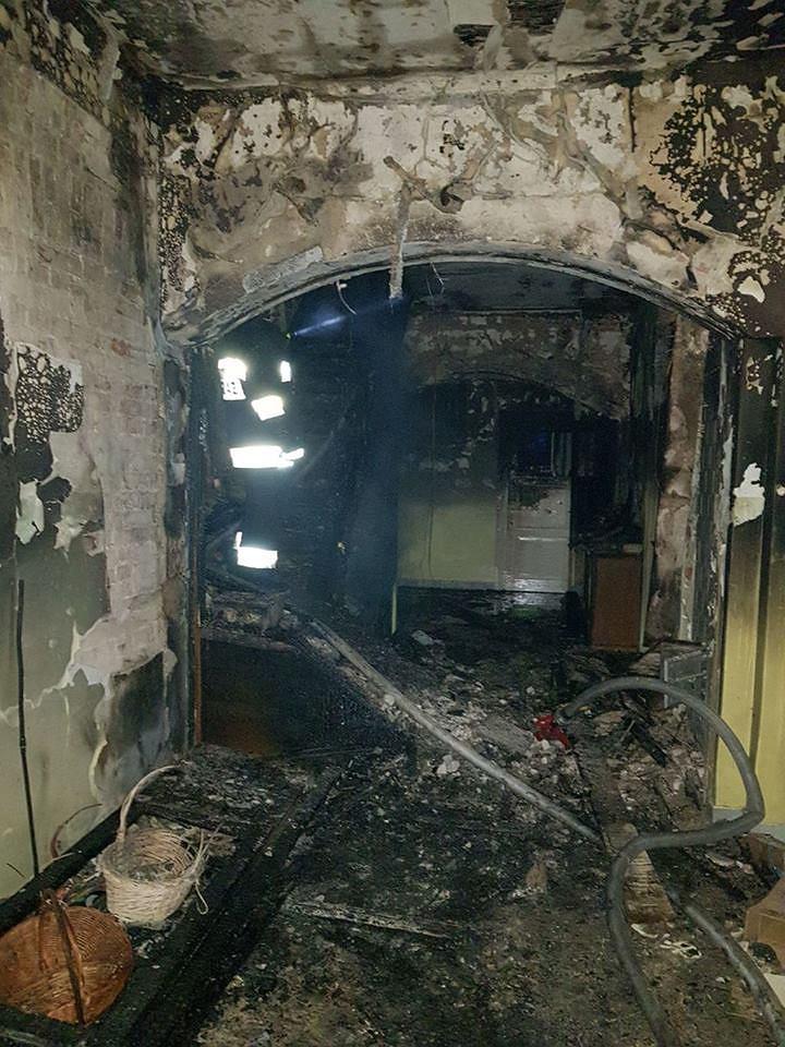Pożar w Białowieży