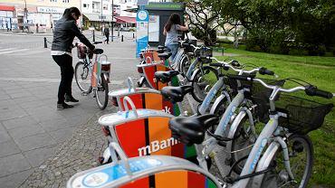 Opole, wypożyczalnia rowerów miejskich