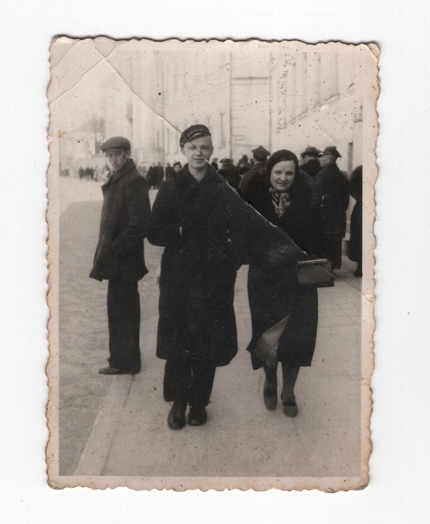 Tadeusz Jasiński wiosną 1939 r. lub jesienią 1938 r.
