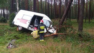 Pomorskie. Wypadek w pobliżu miejscowości Gutowiec