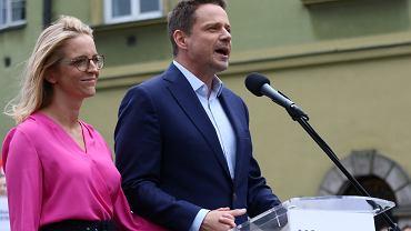 """Małgorzata Trzaskowska o działaniach rządu ws. szkoły: """"Raczej wprowadzają chaos"""""""