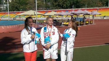 Alicja Fiodorow (z lewej), RSSiRON Start Radom