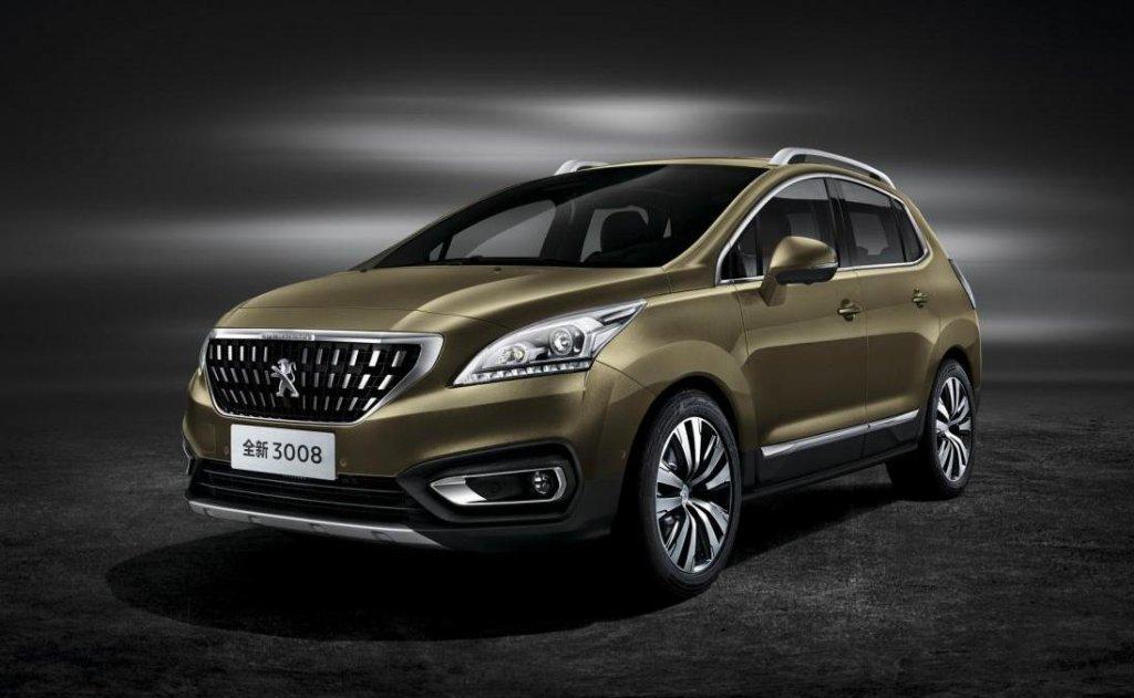 Peugeot 3008 (FL 2016, Chiny)