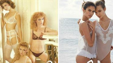 Victoria's Secret kiedyś i dziś - katalog z lat 80. i współczesna kampania reklamowa