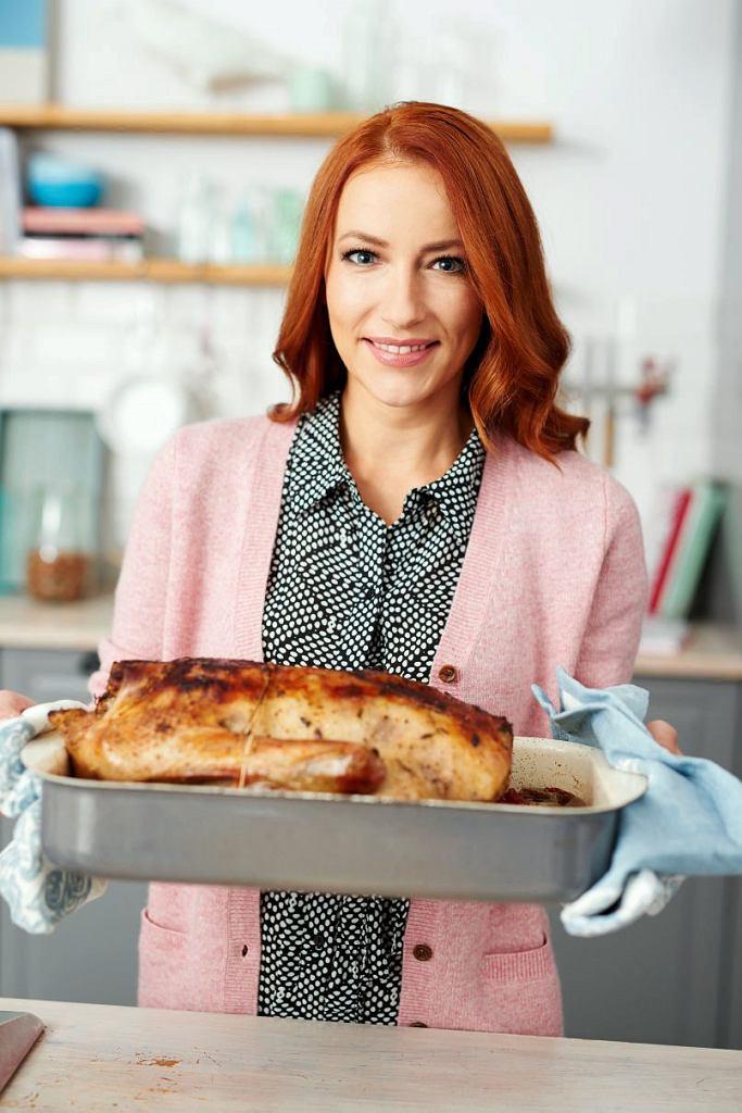 Gęś pieczona według przepisu Mariety Mareckiej będzie przebojem świątecznego obiadu.