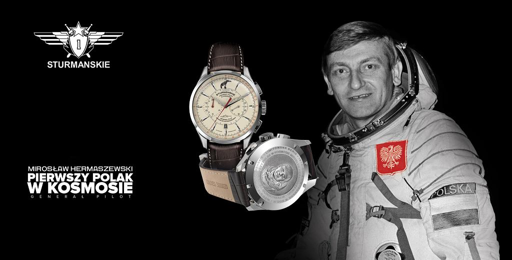 Powstał zegarek poświęcony wyprawie Mirosława Hermaszewskiego w kosmos
