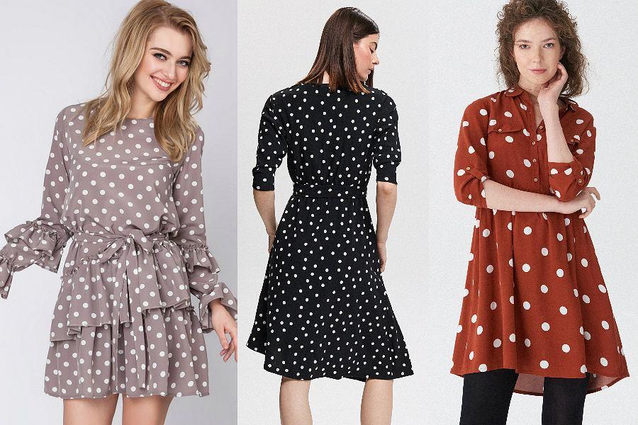 Sukienki w kropki to prawdziwy hit sezonu!
