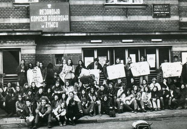 Zdjęcie numer 0 w galerii - Ponad ćwierć wieku temu do Żywca przyjechali hippisi z całej Polski [ARCHIWALNE ZDJĘCIA]
