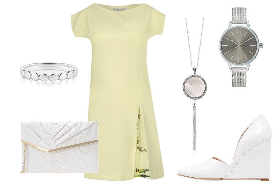 Stylizacja sukienki na specjalne okazja / Kolaż / Materiały partnera