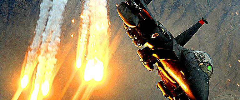 USA zbombardowały swoją bazę w Syrii