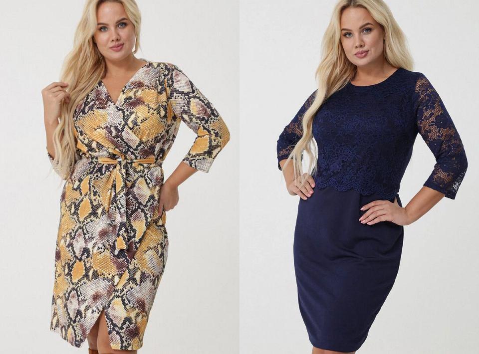Sukienki w dużych rozmiarach Born2be