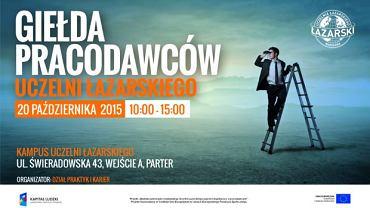 Giełda Pracodawców w Łazarskim - już w przyszły wtorek!