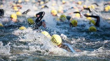 Zawody triathlonowe w Sierakowie