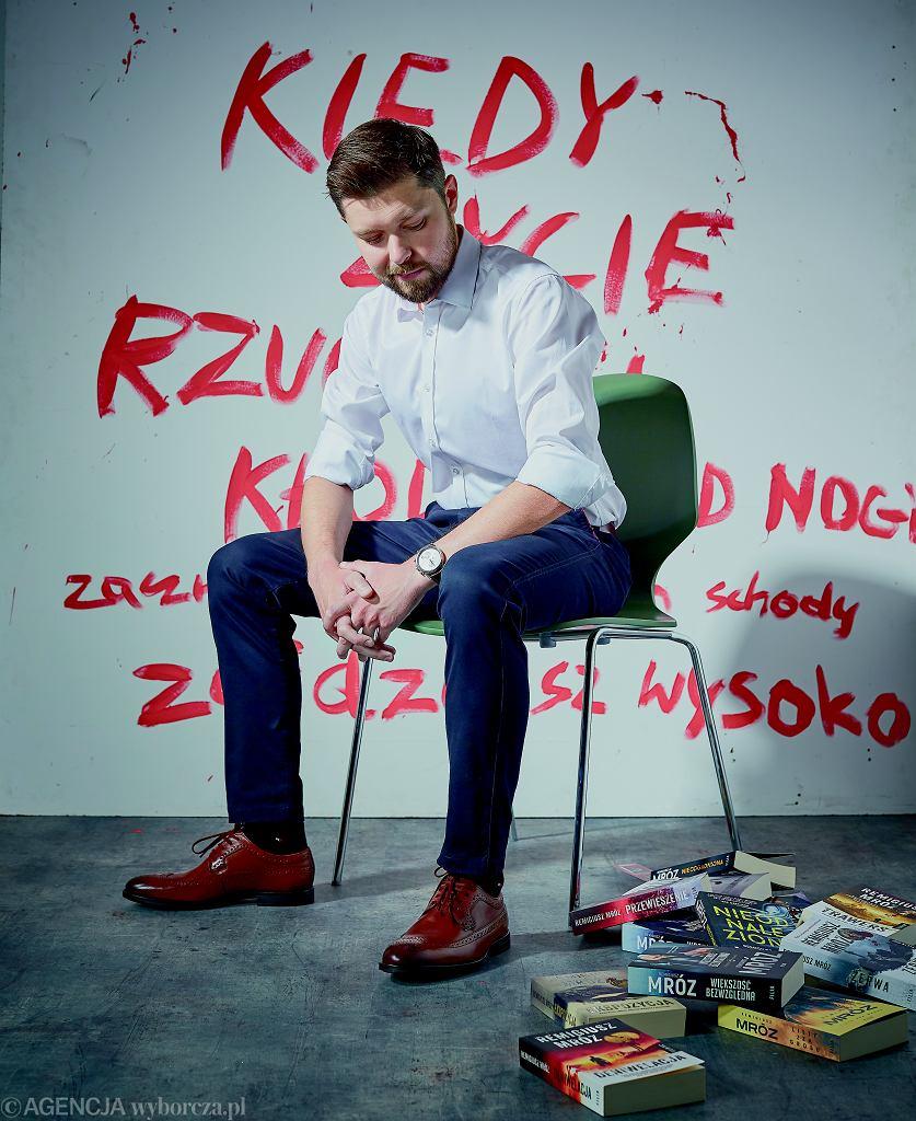 Remigiusz Mróz - sesja dla 'Logo'