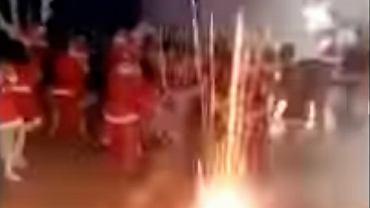 Pirotechnika na przedstawieniu przedszkolaków. Fajerwerki odpalono na sali pełnej dzieci i rodziców