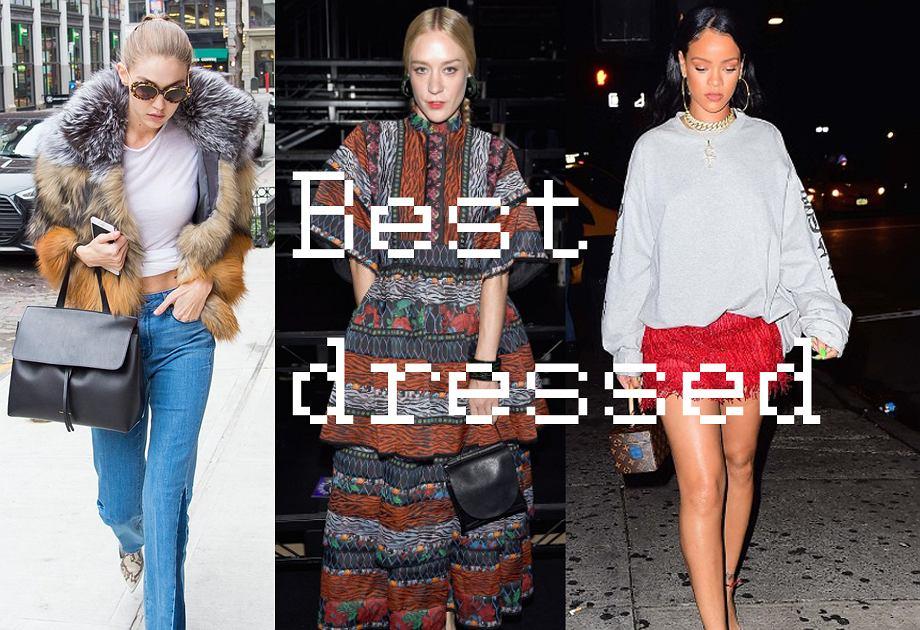 Best dressed - najlepiej ubrani w 2016