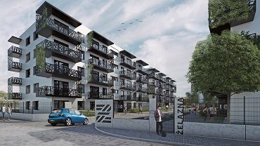 Wizualizacja koncepcji osiedla Żelazna, które firma BD Inwestor zamierza wybudować w Sosnowcu