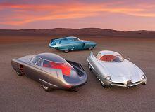 Zbudowane ręcznie przez Bertone, teraz warte 20 milionów dolarów. Trzy Alfy Romeo B.A.T. trafiły na aukcję [WIDEO]