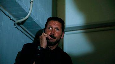 Zawieszony Diego Simeone nie mógł oglądać meczu z ławki